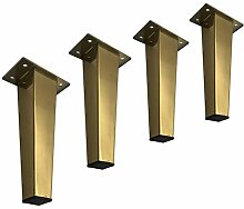 Set of 4 Furniture Legs Stainless Steel Cabinet