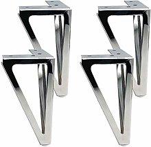 Set of 4 Iron Hairpin Legs Modern Metal Furniture
