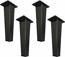 Set of 4 Metal Furniture Legs,Stainless Steel Sofa