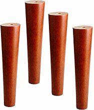 Set of 4 Sofa Legs,Wooden Furniture Legs Solid