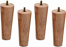 Set of 4 Wooden Furniture Legs, Replacement Sofa