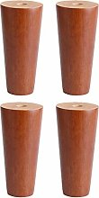 Set of 4 Wooden Furniture Legs, Wooden TV Cabinet