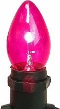 Set of 40 Starlights in Pink - 240 VAC - Includes