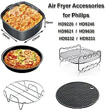 Set of 5 Universal Air Fryer Accessories for