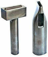 Set of Hole Punch and Eyelet Setting Hand Tool for