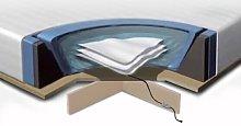 Set of Waterbed Accessories EU King Size Mattress 5ft3 Platform Heaters Liner Conditioner