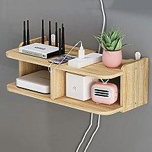 Set-top Box Rack, Wall-Mounted WiFi Storage Rack,