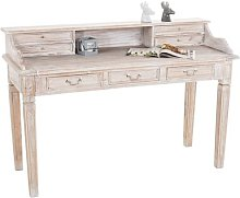 Seten Secretary Desk Ophelia & Co. Colour: Beige