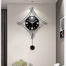 SETSCZY Modern decorative pendulum wall clock,