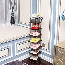 Seven-Layer Shoe Rack, Simple Metal Shoe Cabinet