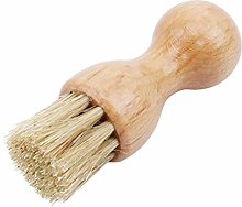 Sevenfly Wooden Handle Shoes Brush Buffing Brush