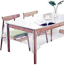 seveni PVC Clear Tablecloth for Square Table Wipe