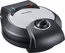 Severin 107847 Waffle Maker, Brushed Stainless