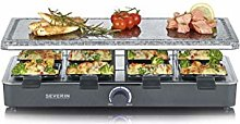 Severin RG 2372 Raclette Grill with Cooking Stone