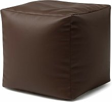 Severine Cube Pouffe Marlow Home Co. Upholstery