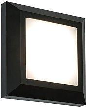 Severus Black Finish Direct Warm White LED Outdoor