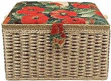 Sewing Basket, Large European Sewing Storage Box