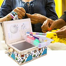 Sewing Basket with Accessories, Sewing Kit Basket,
