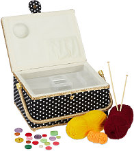 Sewing Basket, Without Content, Removable Tray,