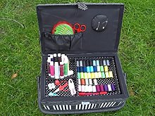 Sewing Box Sewing Basket with Sewing Kit Sewing