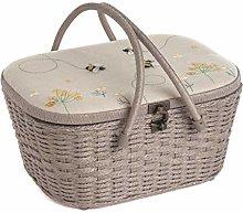 Sewing Box/Wicker Basket - Linen Bee - Hobbygif