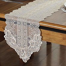 SFBBAO Table Runner Beautiful Lace Simple Desk