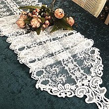 SFBBAO Table Runner Embroidery Lace Table