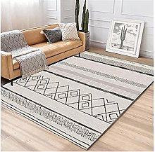 SFQRYP Grey And White Rug Large Rugs And Carpets