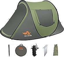 SFSGH 3-4 Person Family Tent with Blackout Bedroom