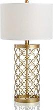 SFSGH Modern Golden Table Lamp, E27 Minimalist