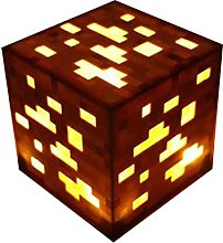SGTHYJ Torch Light Minecraft Illuminated Wall Lamp