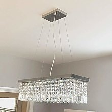 sgvag Crystal Chandelier Ceiling Lights, Modern
