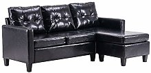 SH Modern Sectional Sofa Couch, L-Shaped Sofa