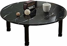 SH-tables Folding Table, Japanese Low Round