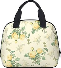 Shabby Chic Decor Floral Yellow Rose Waterproof