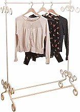 Shabby Chic Vintage Style Clothes Garment Rail