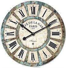 Shabby Chic Wall Clock, 16-Inch Eruner Vintage