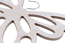 Shabby Chic Wooden Scarf Scarves Hanger Wardrobe