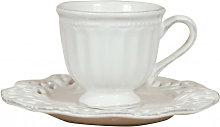 Shabby W14,5xDP7,5xH7 cm sized  white porcelain