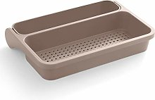 Shability Kitchen Drainer Foldable Drain Basket,