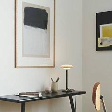 Shade ØS1 LED table lamp rings brass, black base