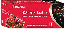 Shadeless Fairy Lights (String Of 20) (UK Mains