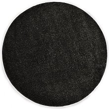 Shaggy Area Rug 120 cm Anthracite