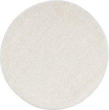 Shaggy Area Rug 120 cm Cream - Cream - Vidaxl