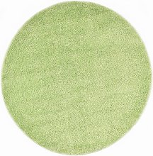 Shaggy Area Rug 120 cm Green - Green - Vidaxl