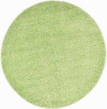 Shaggy Area Rug 120 cm Green VD25348 - Hommoo