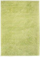 Shaggy Area Rug 120x170 cm Green - Green - Vidaxl
