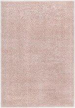 Shaggy Area Rug 120x170 cm Old Pink - Pink - Vidaxl