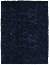 Shaggy Area Rug 140x200 cm Blue - Blue - Vidaxl