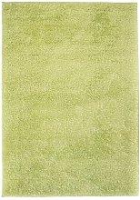 Shaggy Area Rug 140x200 cm Green - Green - Vidaxl